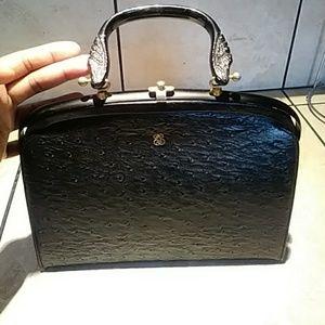 Handbags - Vintage Ostrich Hand Bag